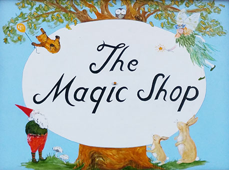 The Magic Shop, Gifts, Toys, Antiques